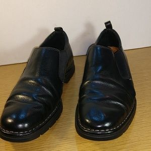 Cole Haan Black Leather Loafers, Sz 10 M